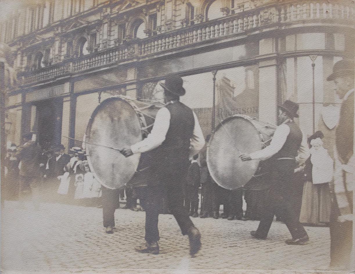 AV136 Old parade, Royal Avenue, Belfast.