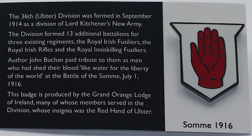 Somme Badge