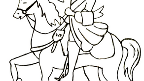Colouring Pages: King William III