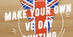 Make Your Own VE Day Bunting!