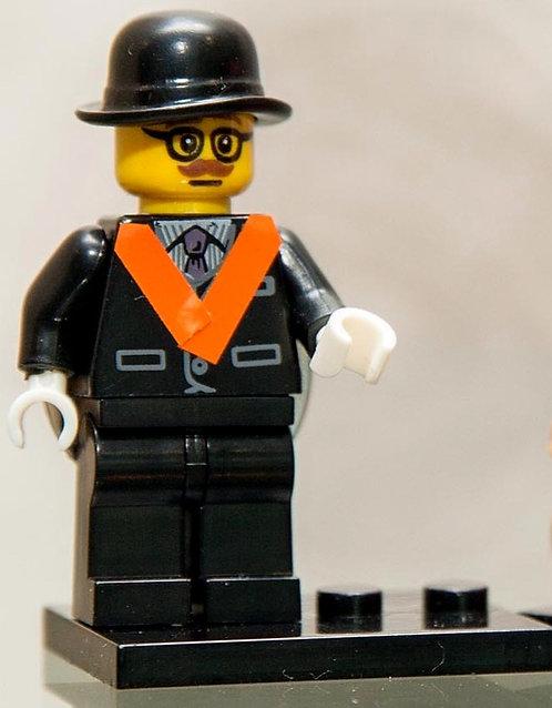 Nanoblock Orangeman Figure