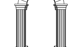 Colouring Pages: Arch
