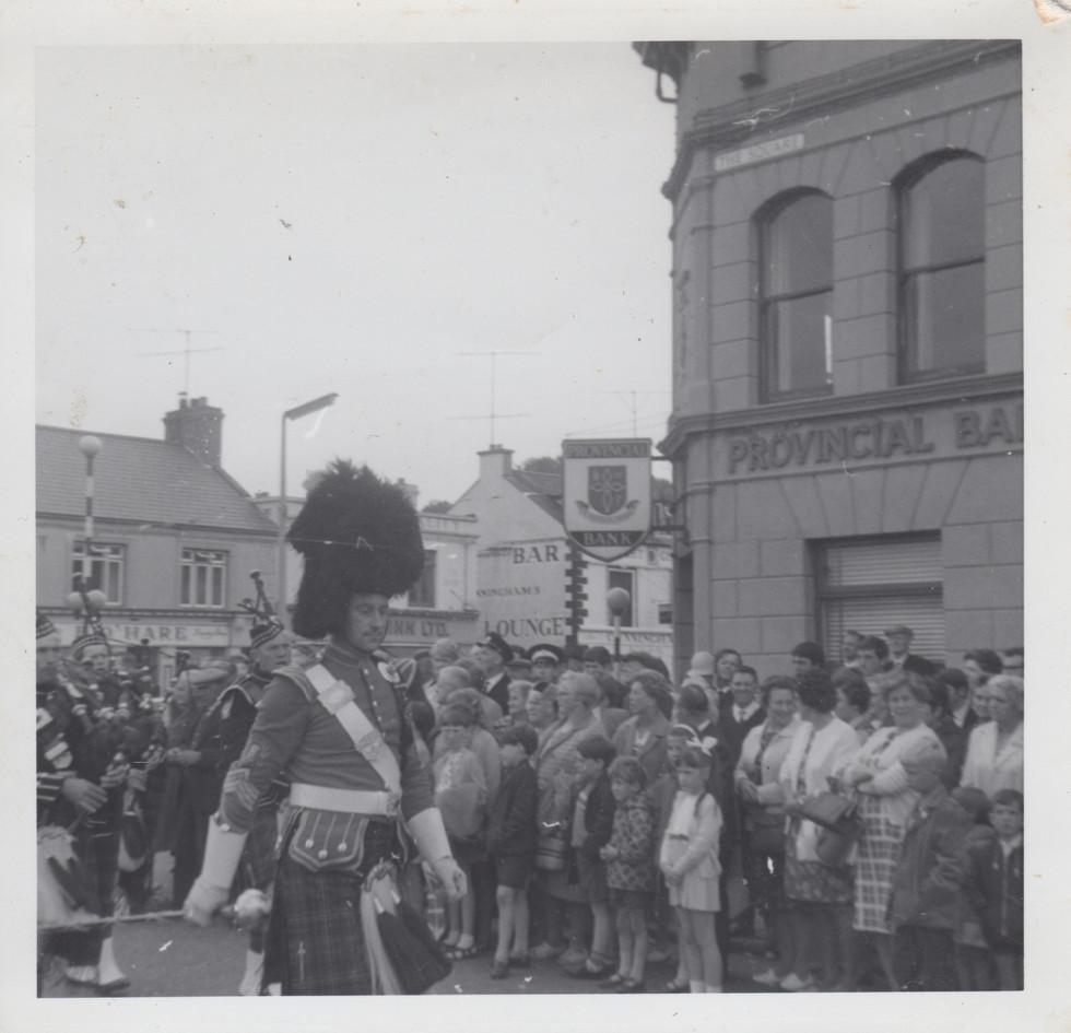 Drumlough Pipe Band, Twelfth of July War