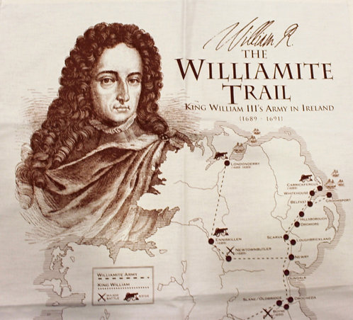 Williamite Trail Tea Towel