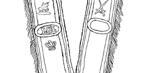 Colouring Pages: Collarette