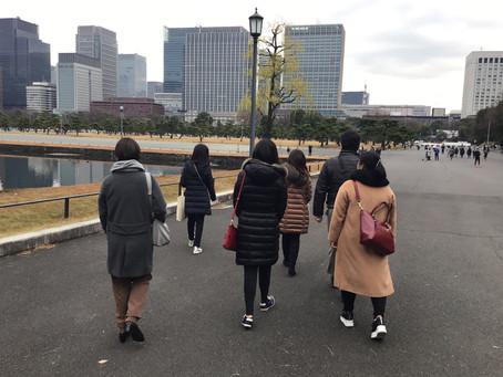 英語で東京ウォーキングツアー実施報告