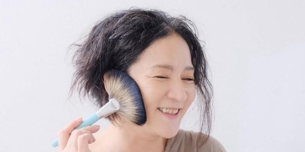 ストアカ講師 Hikichi Junko先生コラボ企画 フェイスブラシで小顔になる❣️ささっと簡単リンパケア