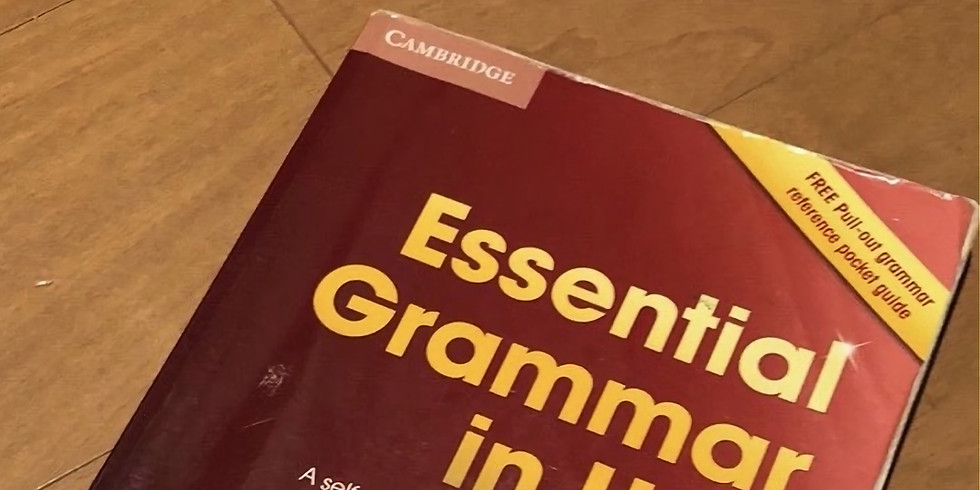 【オンライン】初心者限定Grammar in Useで英語を学ぶ会