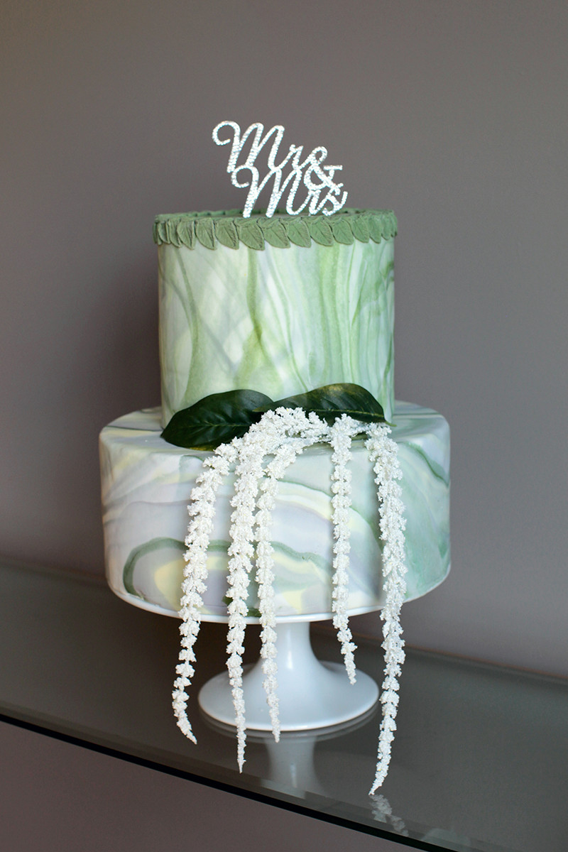 ELA Wedding Cake