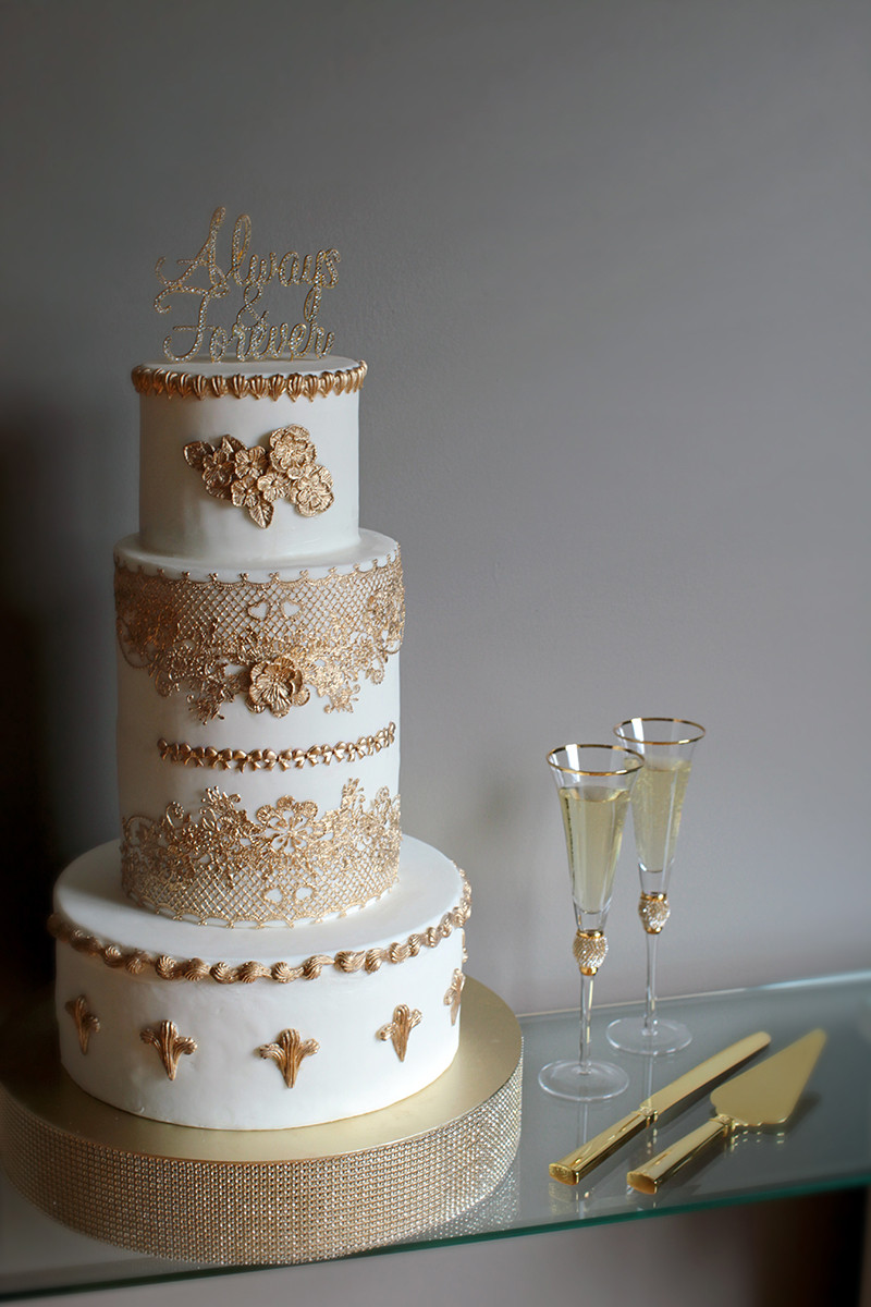 ESA Wedding Cake