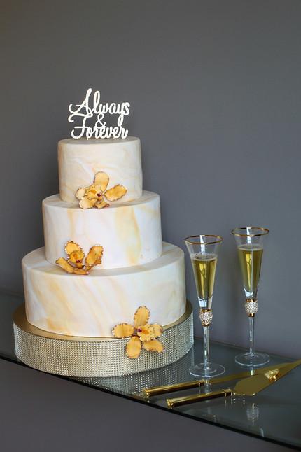 JOY Wedding Cake