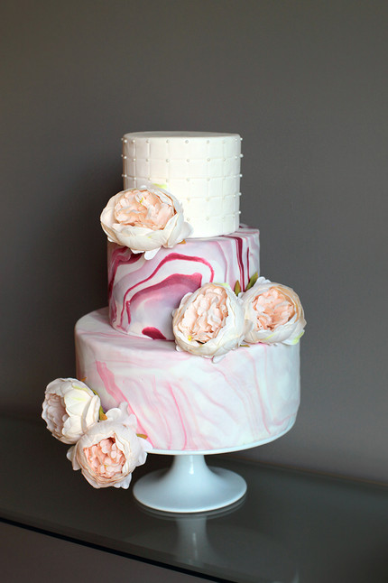 REA Wedding Cake