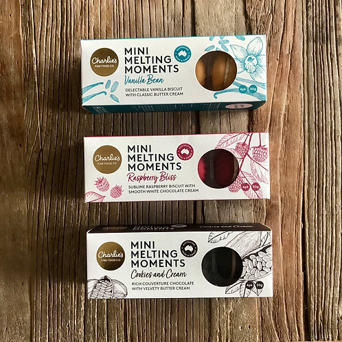 Mini Melting Moments - 4 pack