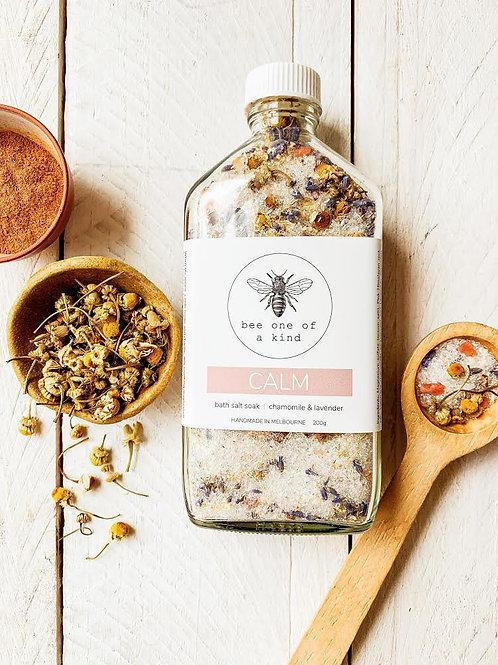 Organic Bath Salts - Bee one of a kind