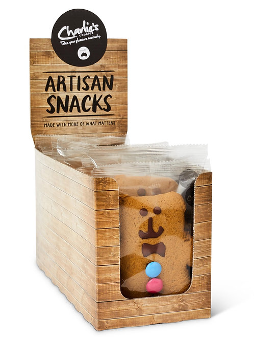 Artisan Smiley  Ginger Bear