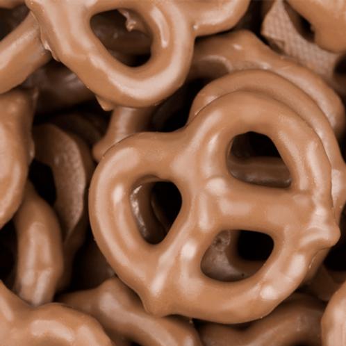 Premium Milk Chocolate Covered Pretzels