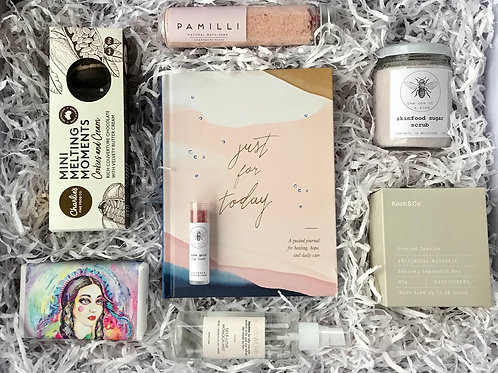 Just For Today Self Care Gift Box