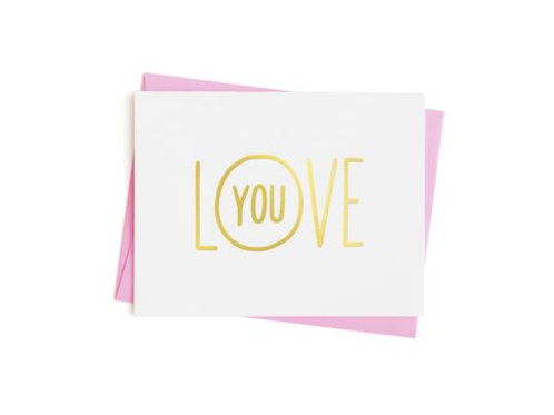 Love you - empathy card