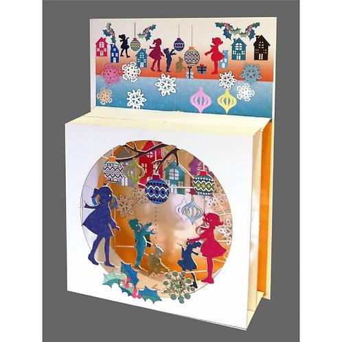 Magic Box Christmas Card - Children Playing