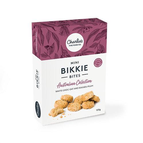 Bikkie Bites Oat, White Chocolate & Kakadu Plum 125g