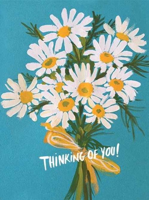 Thinking of you - Daisy