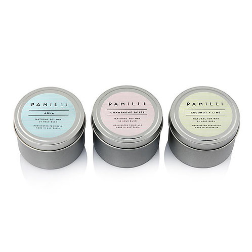 Pamilli soy tin candle