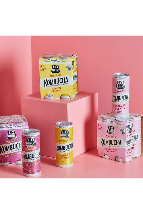 Lo Bro's organic Kombucha
