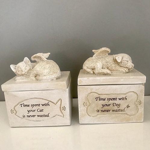 Cat/Dog Keepsake Memorial Box