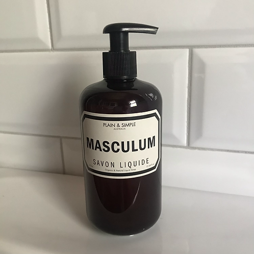 Men's Organic Hand And Body Wash - Plain And Simple