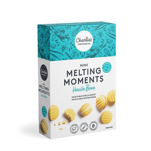 Vanilla Bean Mini Melting Moments 8 pack