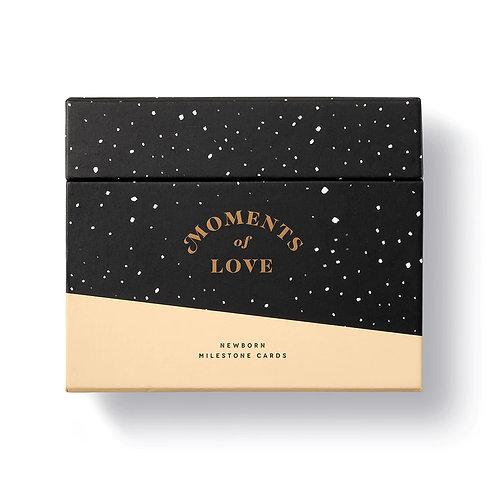 Moments of Love - Newborn Milestone Cards