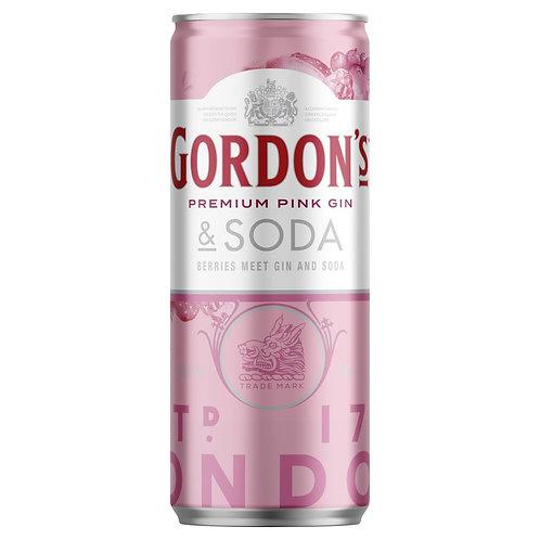 Gordon's Pink Gin And Soda