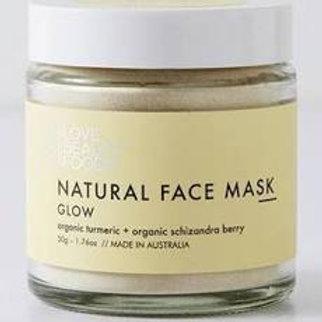 Organic Face Mask - Glow