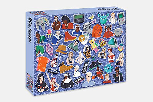 90's Icons Jigsaw Puzzle - 500 pieces