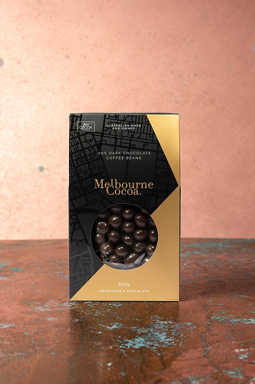 Melbourne Cocoa - Dark Choc Covered Coffee Beans