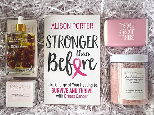 The Empowered Woman Breast Cancer And Self Care Gift Box