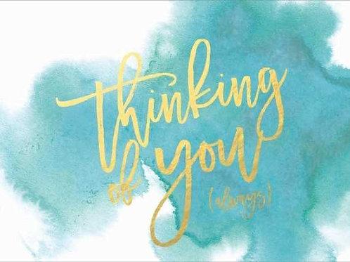 Thinking of you always