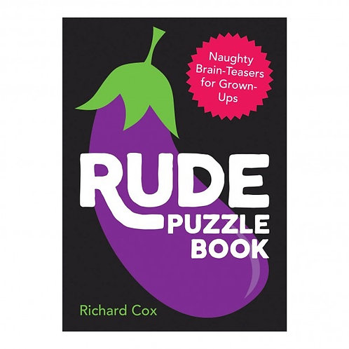 Rude Puzzle Book - Adults Only