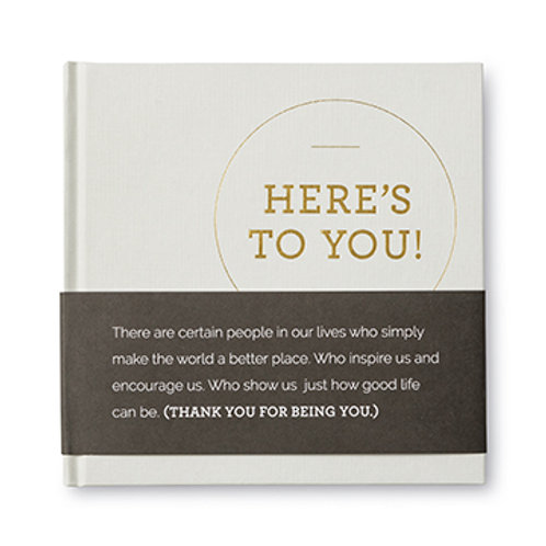 Here's to you - Book