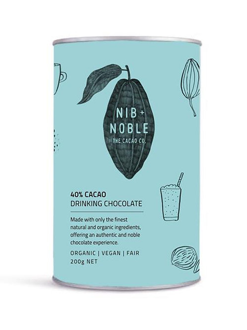 Nib and Noble 40% Cacao Drinking Chocolate