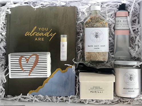 Luxe Self Love Organic Pampering Gift Box