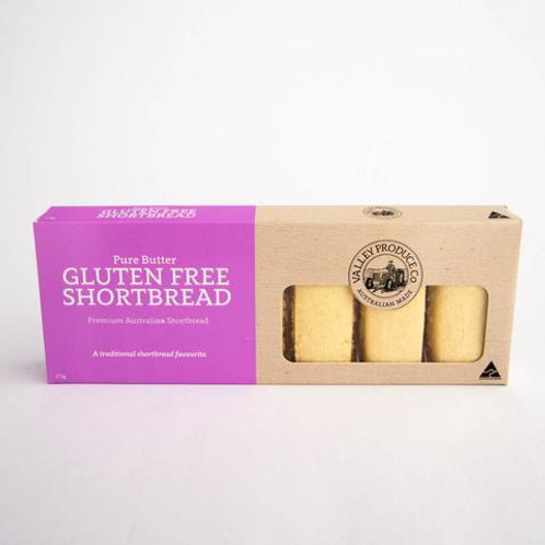GLUTEN FREE Pure Butter Shortbread