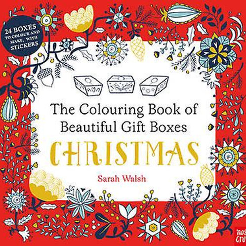 Christmas Colouring Book Of Christmas Boxes