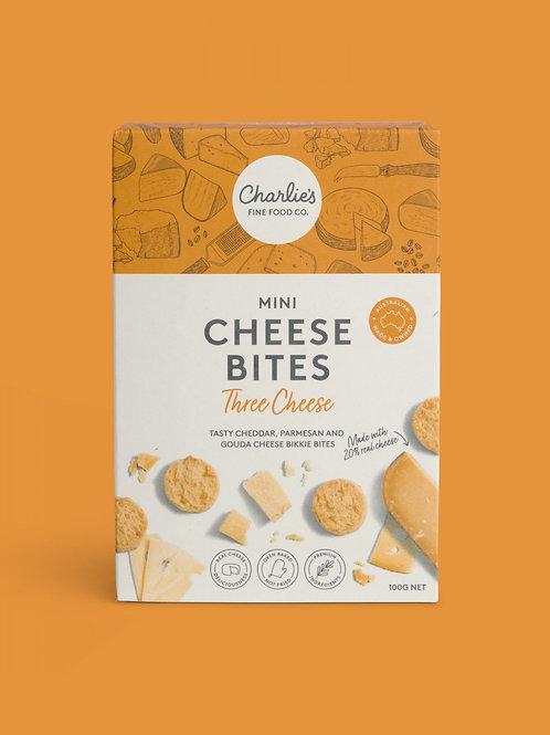Three Cheese Mini Cheese Bites