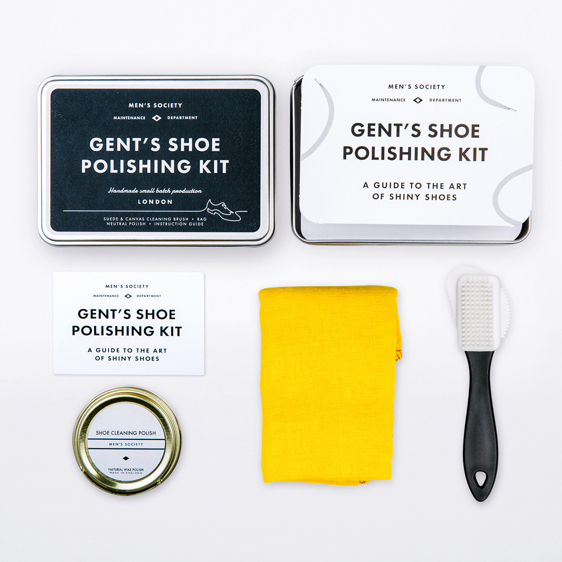 Gents shoe polishing kit