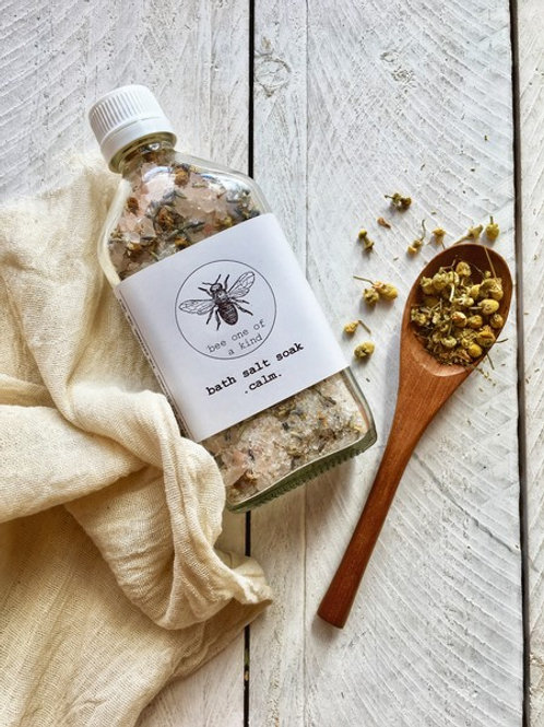 Organic Bath Salts - Calm