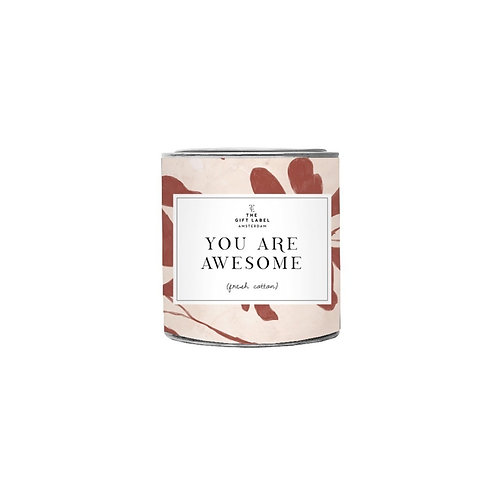 You Are Awesome Candle