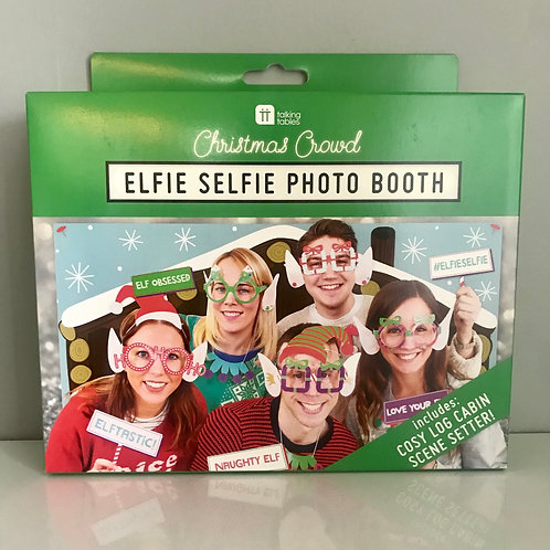 Elfie Selfie Photo Booth - Christmas Fun