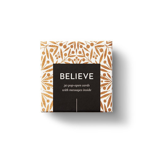 Boxes Of Inspiration - Believe