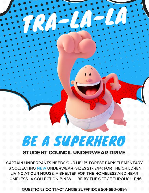 Student Council Underwear Drive